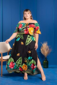 Vestido Long Magic Plus Size