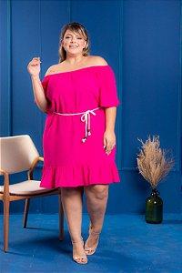 Vestido Star Pink Plus Size