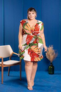 Vestido Forest Play Plus Size