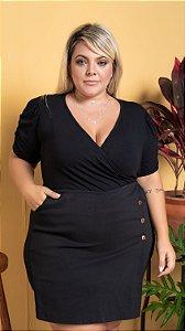 Blusa Sucesso Black Plus Size