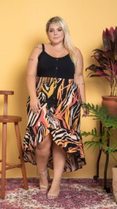 Regata Super Black Plus Size