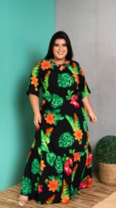 Vestido Longo Super Magic Plus Size