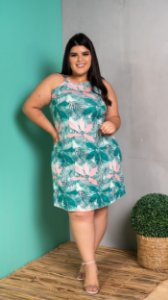 Vestido Biena Green Plus Size