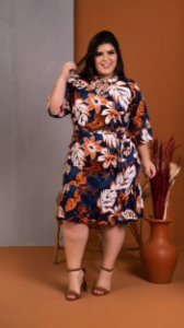 Vestido Flooper Plus Size