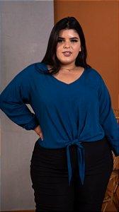 Blusa Target Blue