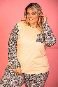 Pijama Melissa Bege