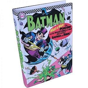 Caixa Livro Batman Colorido