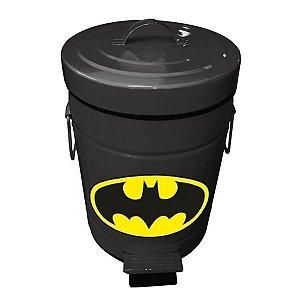 Lixeira Metal DCO - Logo Batman