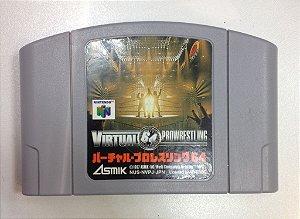 Virtual Prowrestling Japones - Nintendo 64 - Original N64