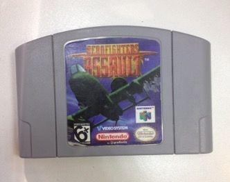 Aero Fighters Assault- Nintendo 64 - Original N64