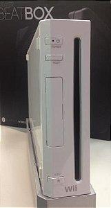 Nintendo Wii completo com Cartão 2GB + Volante Completo Destravado