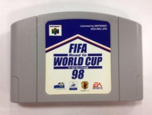 Fifa Road to world Cup 98 Japones Nintendo 64 N64