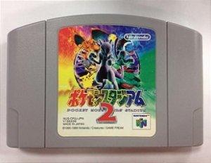 Pokémon Stadium 2 Nintendo 64 Japonês