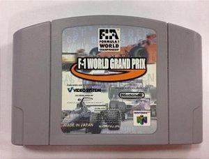 World Grand Prix Original Japonês Para Nintendo 64