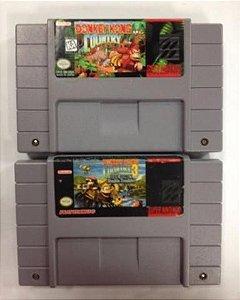 Donkey Kong Country e Donkey Kong Country 3 Originais