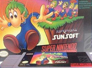 Lemmings Original Americano Super Nintendo
