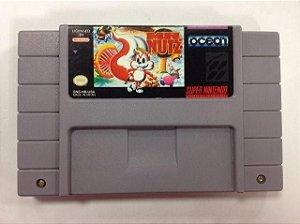 Mr Nutz Super Nintendo Snes Original Americano