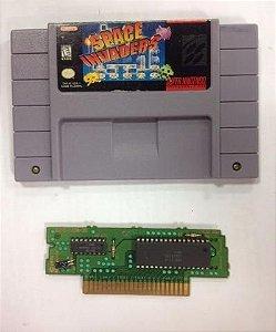 Space Invaders Snes Original Super Nintendo