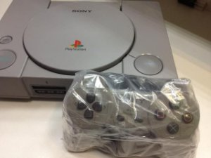 Playstation 1 Fat Semi Novo Completo