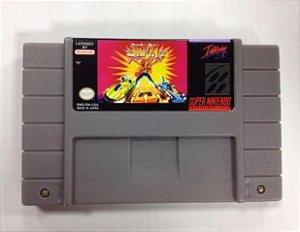 Rock roll racing  Paralela Super Nintendo