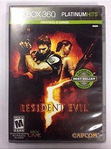 Resident evil 5 Xbox 360 Original