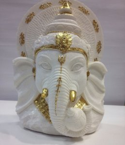 Busto Ganesh Deus Indiano Ganesha