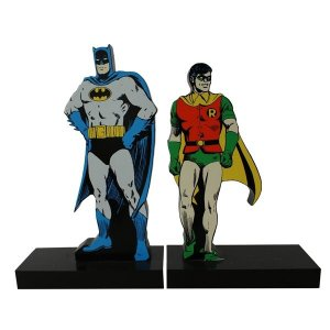 Aparador de Livro Batman e Robin