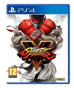 Game Street Fighter V - PS4