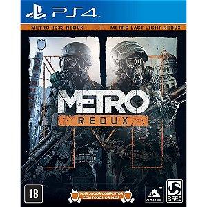 Game - Metro Redux - PS4