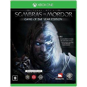 Game - Terra Média: Sombras de Mordor GOTY - Xbox One