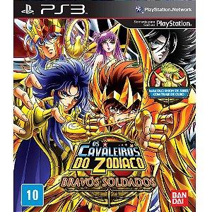 Game Os Cavaleiros do Zodíaco: Bravos Soldados - PS3