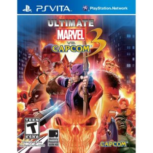 Game Ultimate Marvel vs Capcom 3 - PsVita