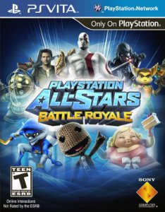Game Playstation All Stars Battle Royale - PsVita