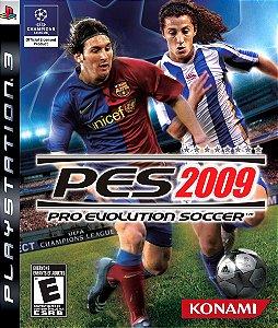 Game Pro Evolution Soccer Pes 2009 - Ps3