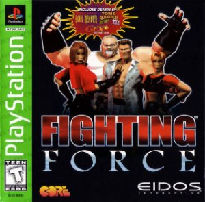 Game Fighting Force PlayStation 1 Ps1 Original