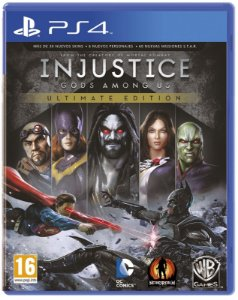 Game Injustice: Gods Among Us Ultimate Edition  - PlayStation 4 Ps4