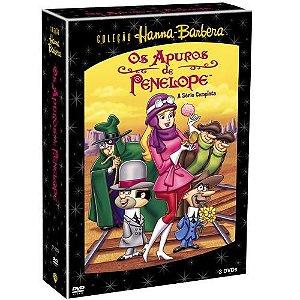 Dvd Original Coleção Hanna-barbera Box Apuros De Penelope