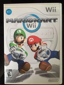 Mario Kart Jogo Completo Original Nintendo Wii