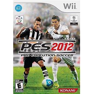 Jogo Konami Pes 2012 Pro Evolution Soccer Nintendo Wii Original Lacrado