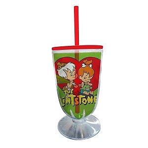 Taça Acrílica - HB Flintstones Peeble And Bam Bam