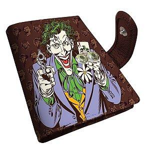Porta Cartão PU DCO Joker Marrom