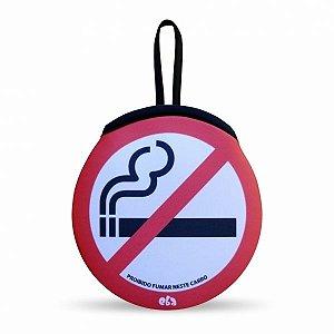 Lixeirinha Automotiva Proibido Fumar Neste Carro