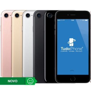 iPhone 7 - 256GB - Novo - 1 Ano de Garantia Apple