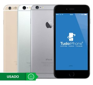 iPhone 6 Plus - 16GB - Usado - 1 Ano de Garantia TudoiPhone