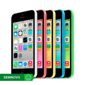 iPhone 5c - 8GB - Seminovo - 3 Meses de Garantia TudoiPhone