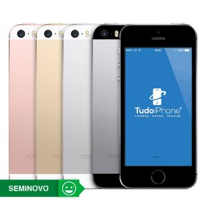 iPhone SE - 64GB - Seminovo - 3 Meses de Garantia TudoiPhone