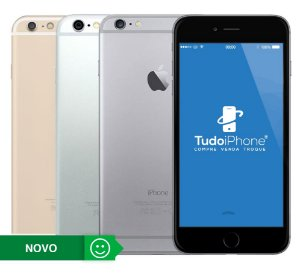 iPhone 6 - 64GB - Novo - 1 Ano de Garantia Apple