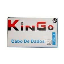 Cabo 30 Pinos de Carregamento para iPhones 4/s e Ipads Kingo Homologado