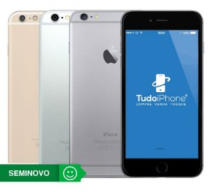 iPhone 6 Plus - 64GB - Seminovo - 1 Ano de Garantia TudoiPhone