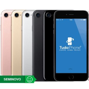 iPhone 7 - 128GB - Seminovo - 1 Ano de Garantia TudoiPhone